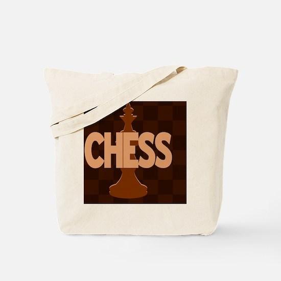 Chess King Tote Bag