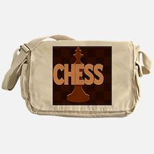 Chess King Messenger Bag