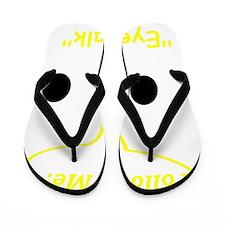 Eye Talk Flip Flops