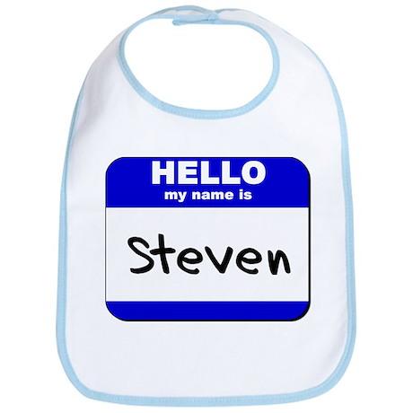 hello my name is steven Bib