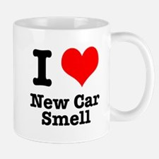 I Heart (Love) New Car Smell Mug