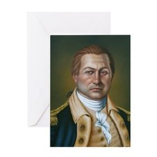 Colonel Benjamin Cleveland Greeting Card