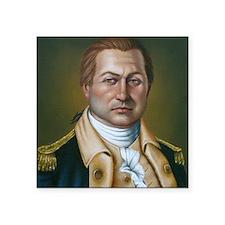"""Colonel Benjamin Cleveland Square Sticker 3"""" x 3"""""""