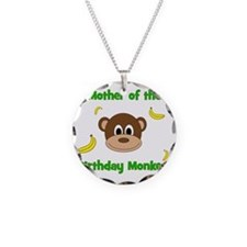 Mother of the Birthday Monke Necklace