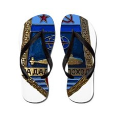 Soviet Navy Sub badge Flip Flops