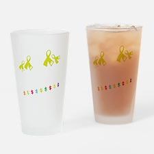We rock Drinking Glass