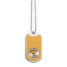 BHNW LOGO w/orange - Dog Tags