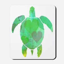 GREEN SEA TURTLE Mousepad