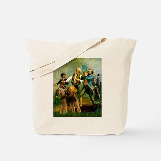 Spirit '76 - Airedale #6 Tote Bag