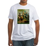 Spirit '76 - Airedale #6 Fitted T-Shirt