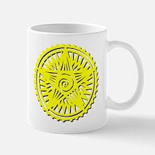 Earth Symbol Yellow Mug