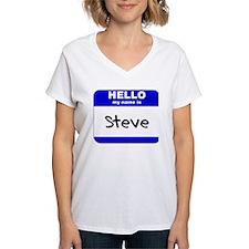 hello my name is steve Shirt