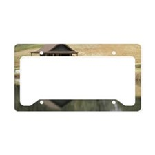 Reflections License Plate Holder