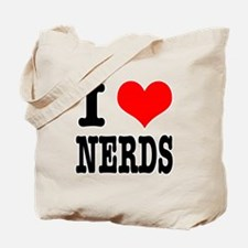 I Heart (Love) Nerds Tote Bag