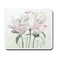 Beautiful Peony Painting Mousepad