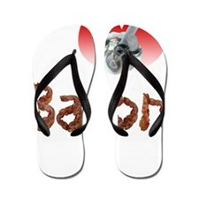 I love bacon Flip Flops