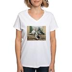 Show Racer Trio Women's V-Neck T-Shirt