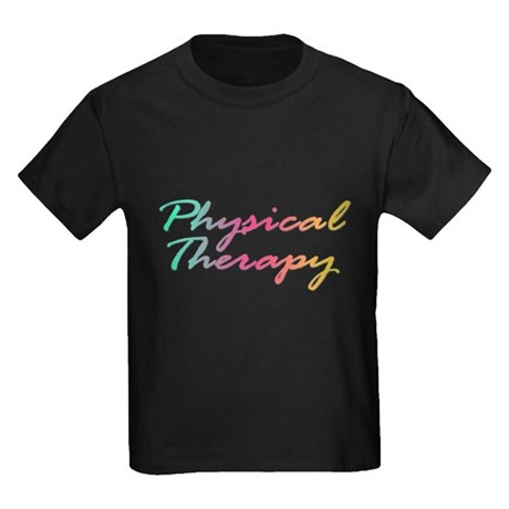 Physical Therapy Kids Dark T-Shirt
