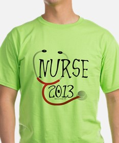 Nurse 2013 Stethoscope T-Shirt