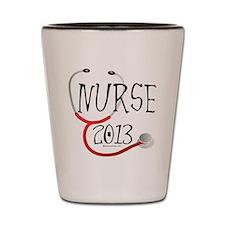 Nurse 2013 Announcement Shot Glass