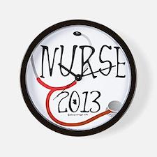 Nurse 2013 Announcement Wall Clock