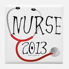 Nurse 2013 Announcement Tile Coaster