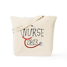 Nurse 2013 Announcement Tote Bag