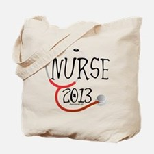 Nurse 2013 Announcement Tote Bag