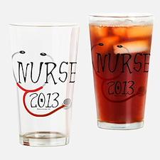 Nurse 2013 Announcement Drinking Glass