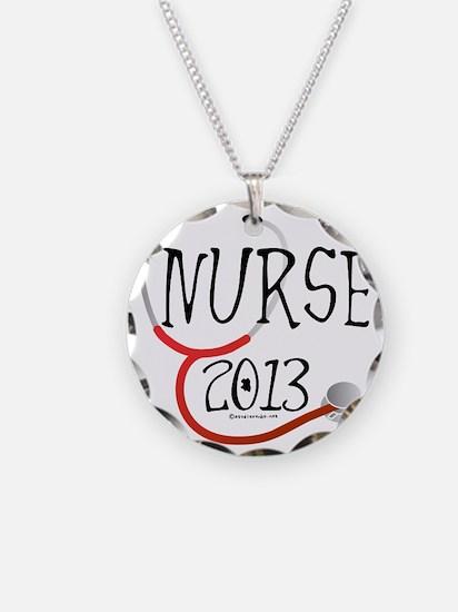 Nurse 2013 Announcement Necklace