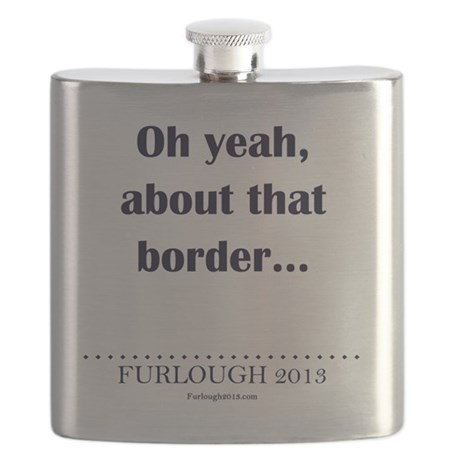 About That Border Flask
