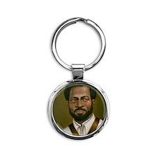 Ishmael Titus Round Keychain