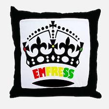 EMPRESS RASTA Throw Pillow