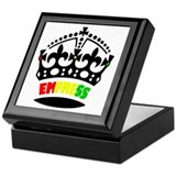 Rasta Square Keepsake Boxes