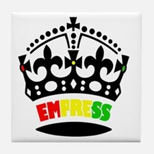 EMPRESS RASTA Tile Coaster