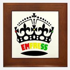 EMPRESS RASTA Framed Tile