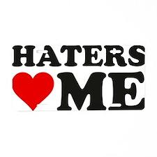hatersLoveMee1A Aluminum License Plate