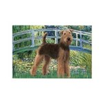 Bridge - Airedale #6 Rectangle Magnet (10 pack)