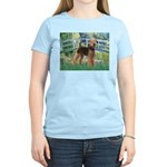 Bridge - Airedale #6 Women's Light T-Shirt