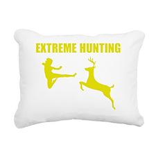 extremeHuntingg1E Rectangular Canvas Pillow