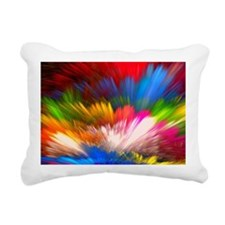Abstract Clouds Rectangular Canvas Pillow