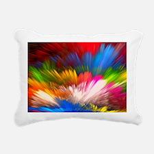 Abstract Clouds Rectangular Canvas Pillow