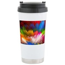 Abstract Clouds Thermos Mug