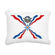 Assyrian Flag Rectangular Canvas Pillow