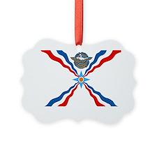 Assyrian Flag Ornament