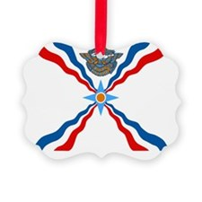 Assyrian Flag Picture Ornament