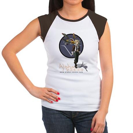 Laura Grey Women's Cap Sleeve T-Shirt