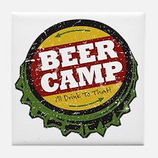 Beer Camp Tile Coaster