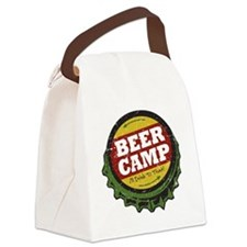 Beer Camp Canvas Lunch Bag