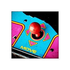 "Joystick Square Sticker 3"" x 3"""